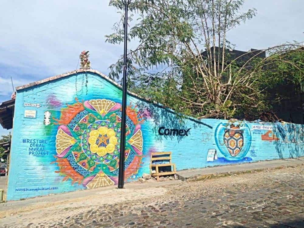Mural - comex