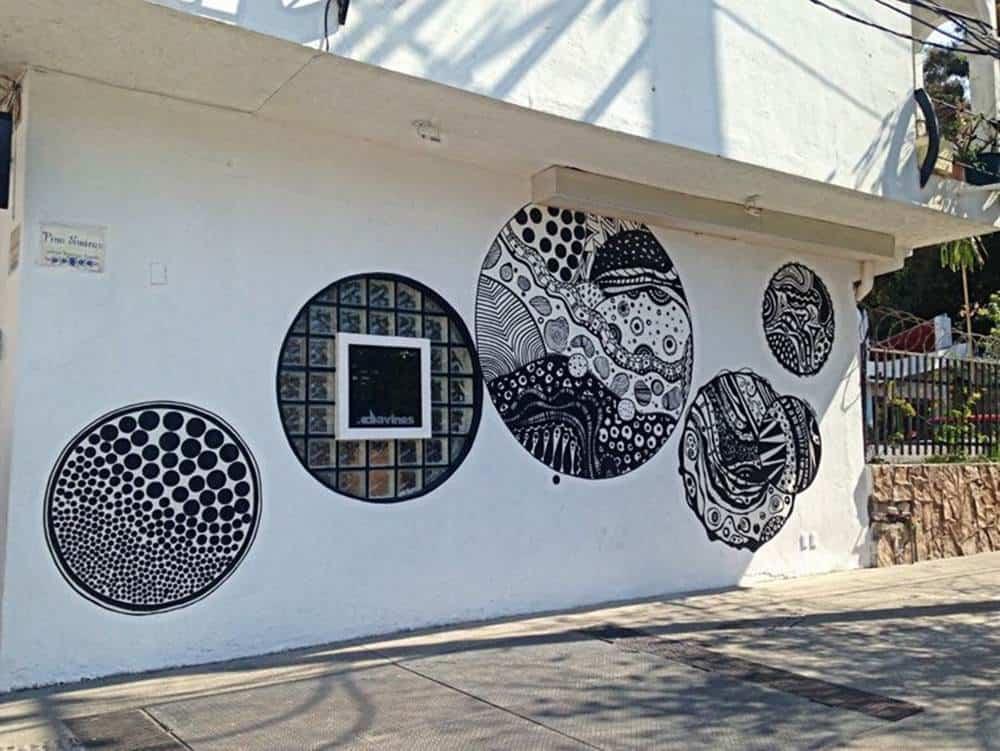 doodle - mural
