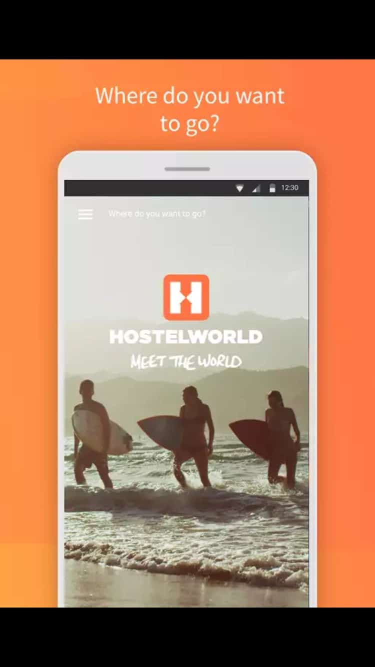 hostel world app