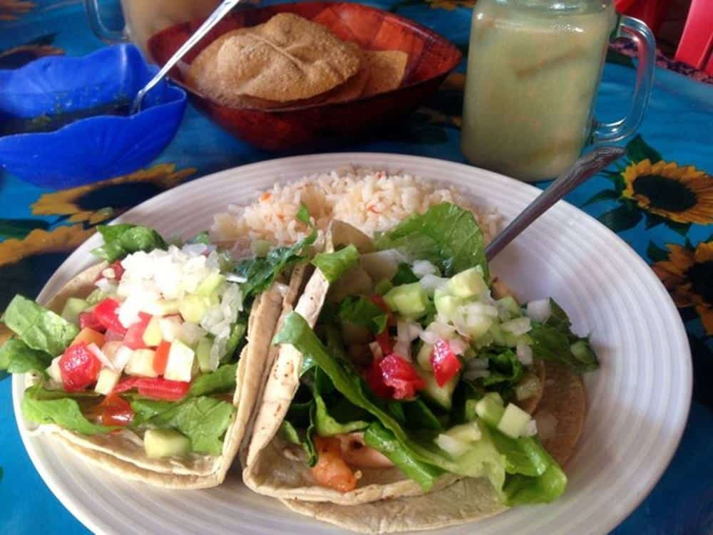 Chilly Willy's Sayulita prawn tacos