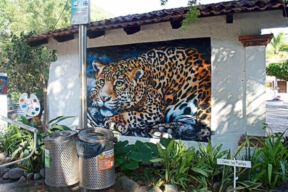 tiger - mural
