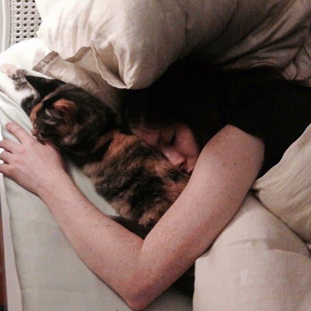 Sarah & Dayna sleeping
