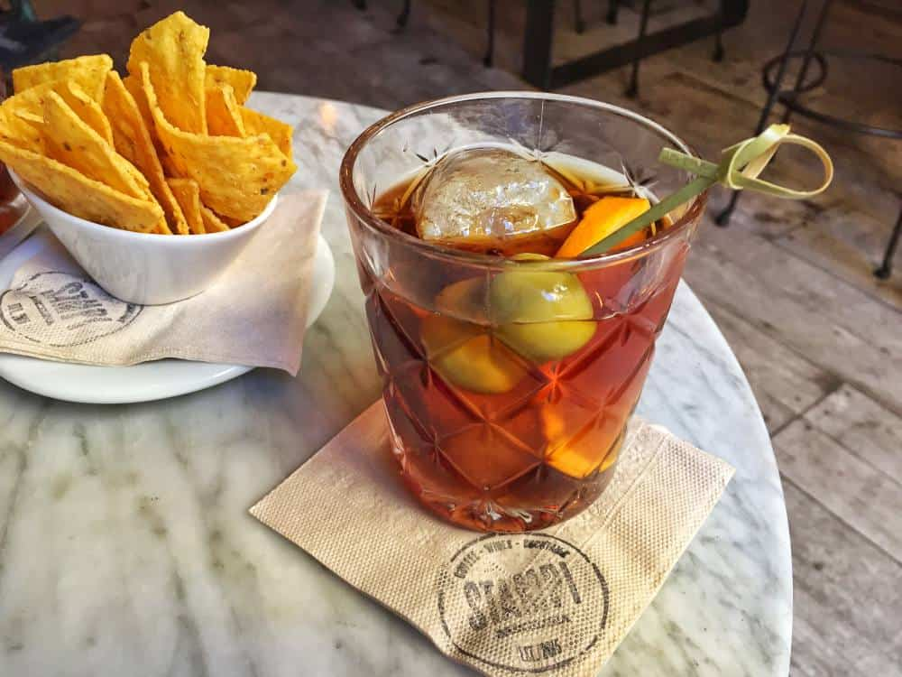 Traditional Spanish drink Vermut