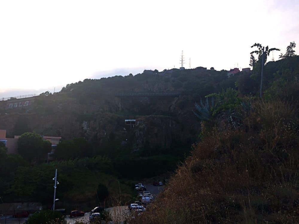 View of Bridge in Parc del Guinardo