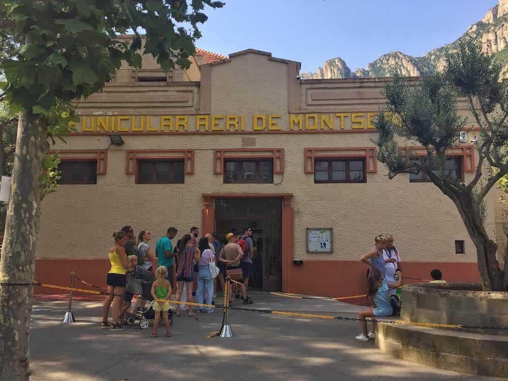 Aeri de Montserrat Lower Station