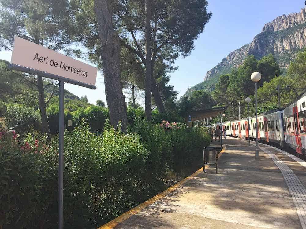 Aeri de Montserrat Train Station Montserrat