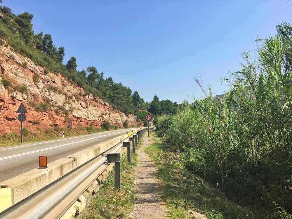 Aeri de Montserrat to Monistrol de Montserrat Hiking Route