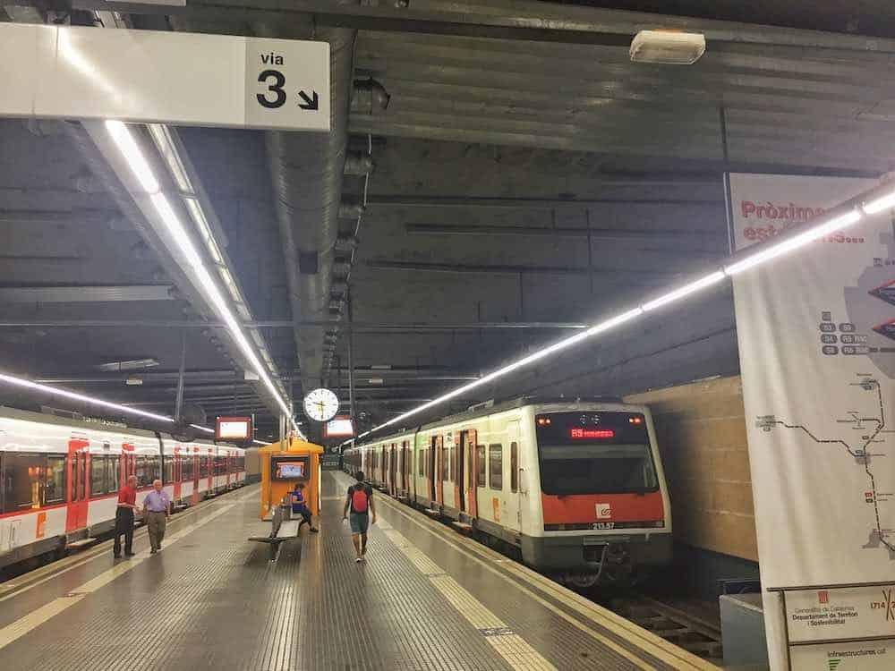 Barcelona To Montserrat Train