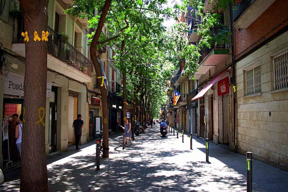 Carrer Verdi Gracia Barcelona
