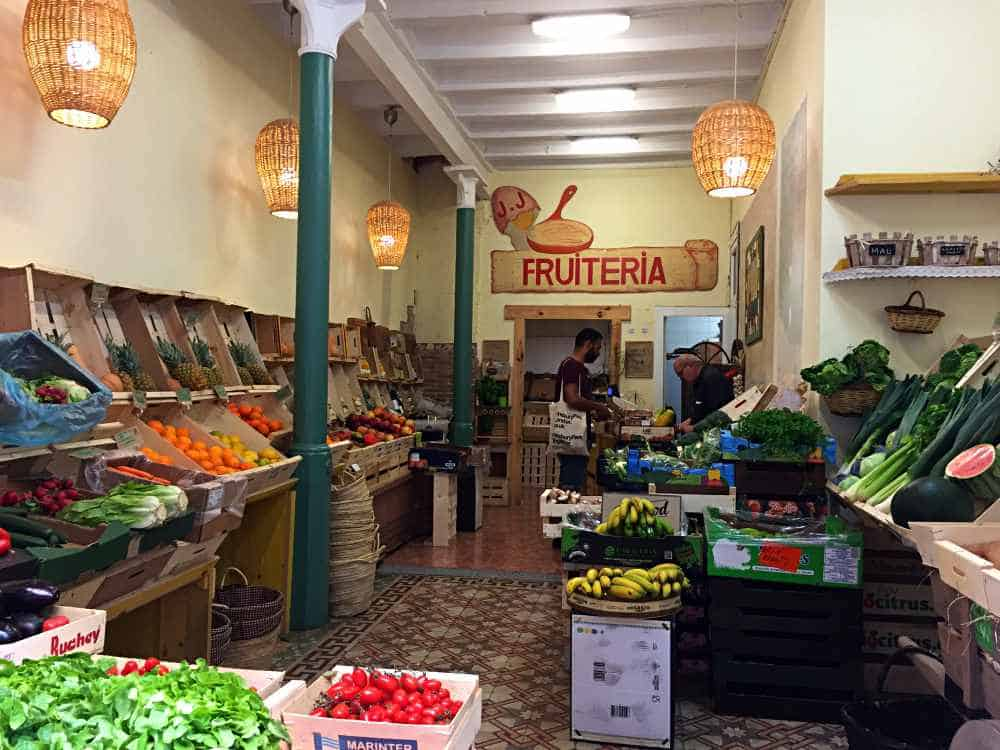 Fruit and Vegetable Shop Barcelona