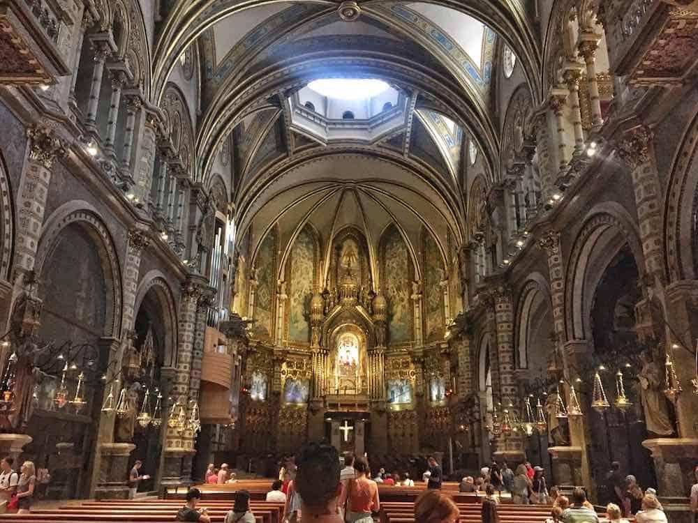 Inside Montserrat Monastery Visit