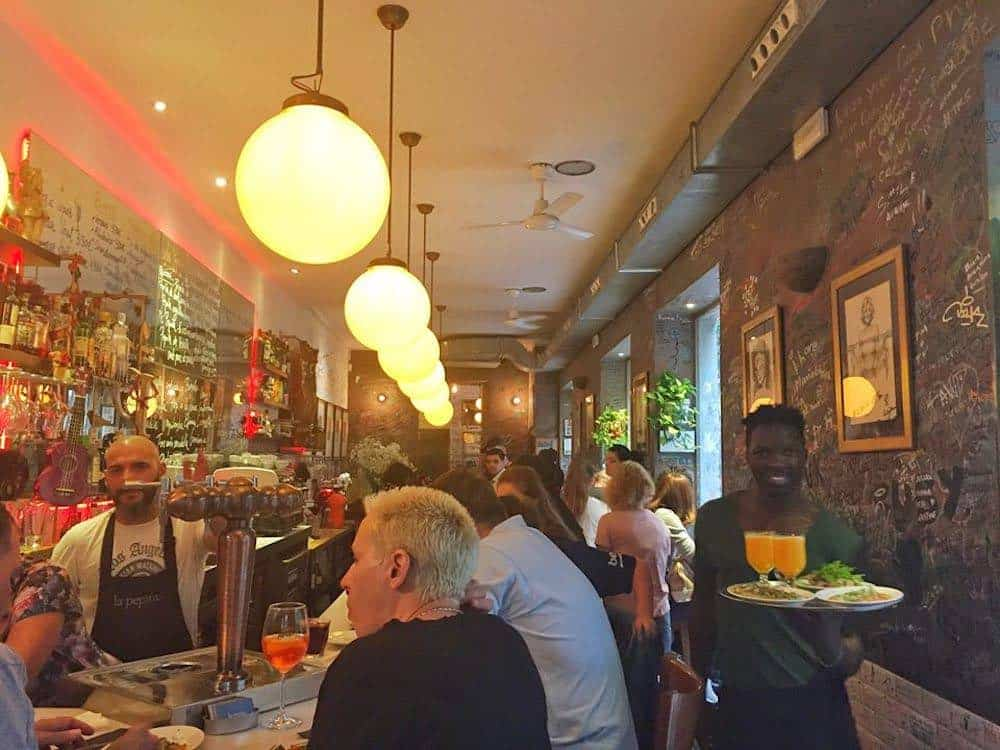 La Pepita Best Restaurants in Gracia Barcelona