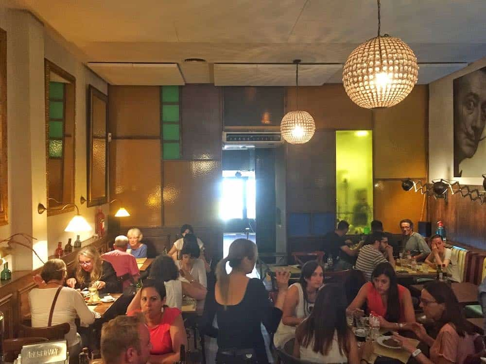 La Trini Restaurant in Gracia Barcelona