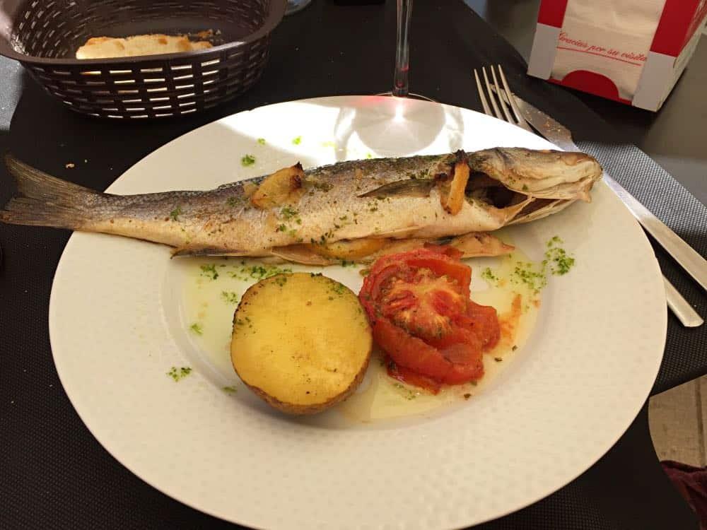 Lunch at Toful Tarragona