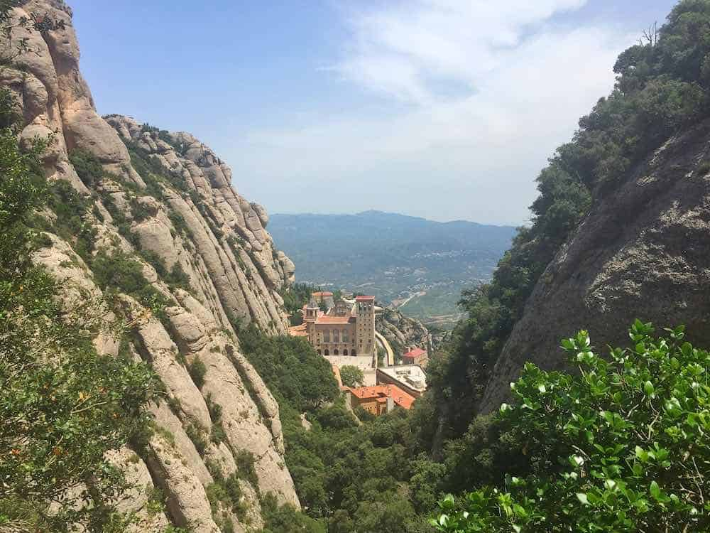 Montserrat Mountains and Monastery