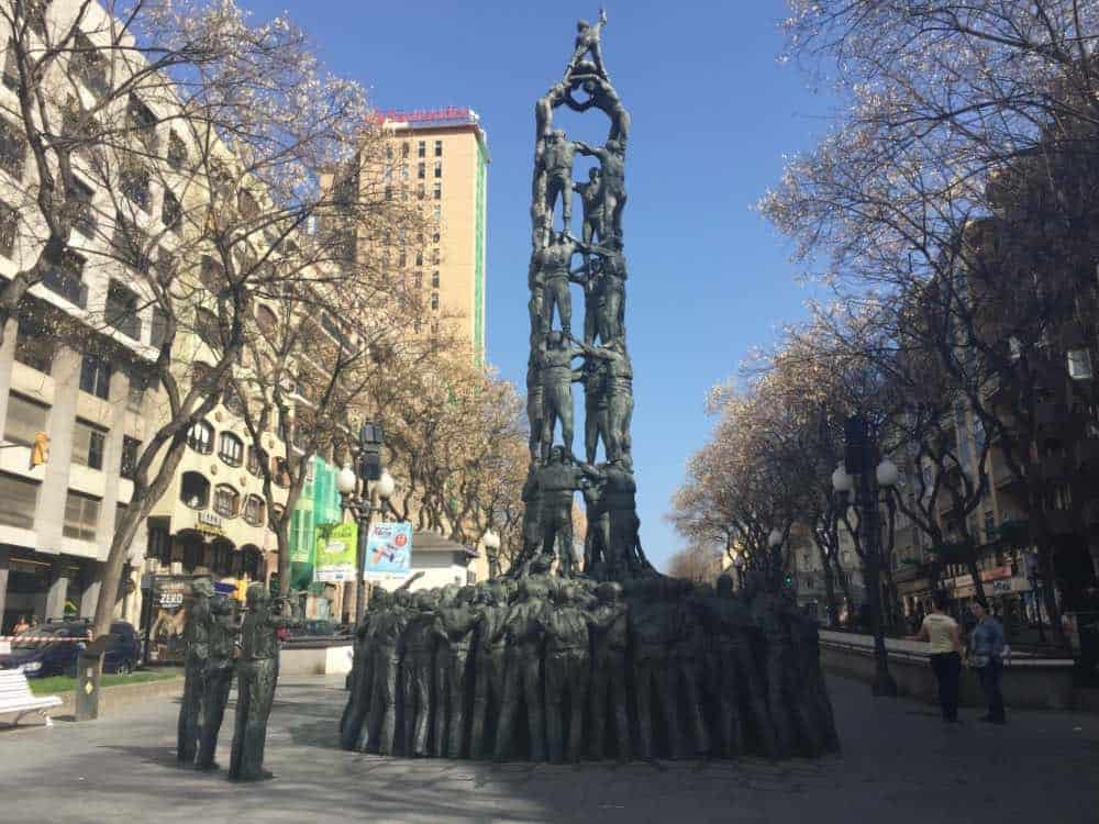Monumento a los Castellers Tarragona must see