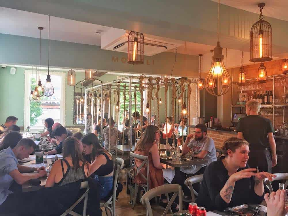 Mowgli Nottingham city restaurants