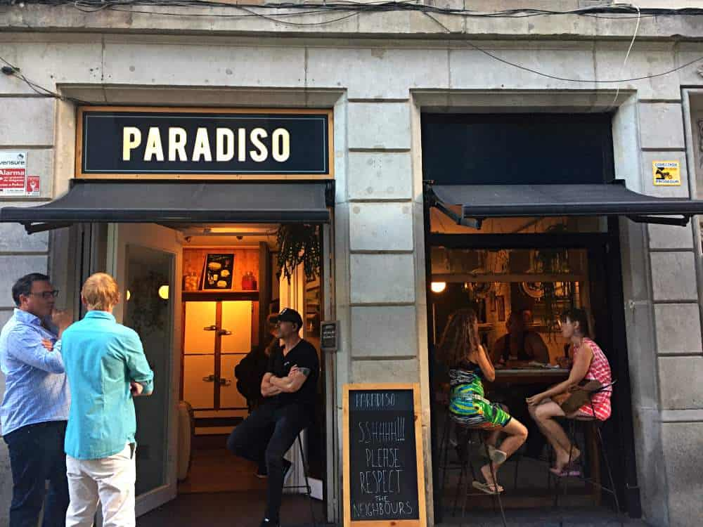 Paradiso Cocktail Bar Barcelona