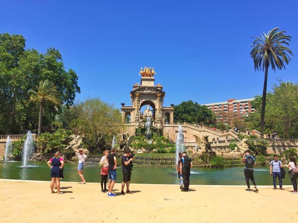 4 days in Barcelona Itinerary Parc de la Ciutadella