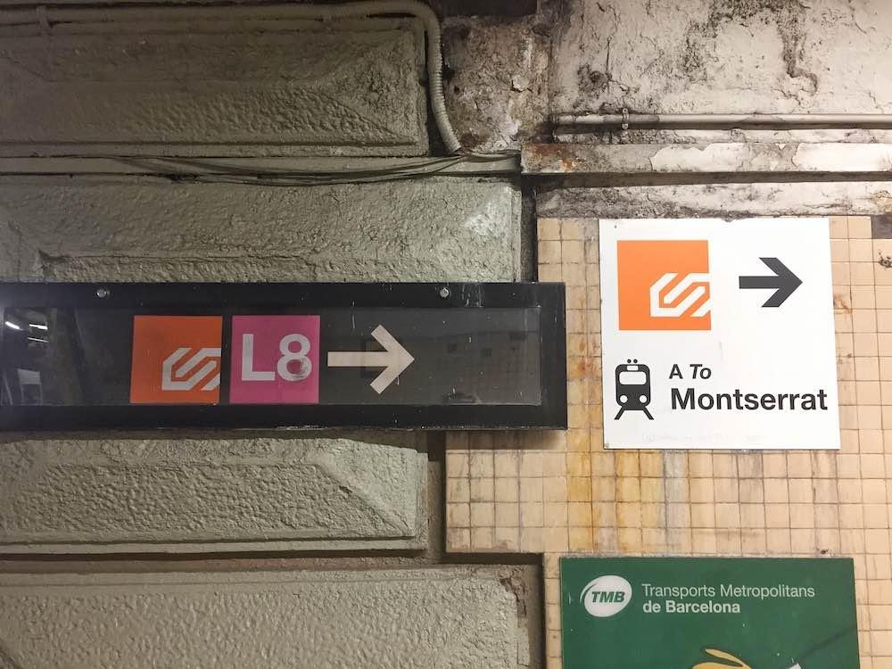 Plaça Espanya to Montserrat Platfrom