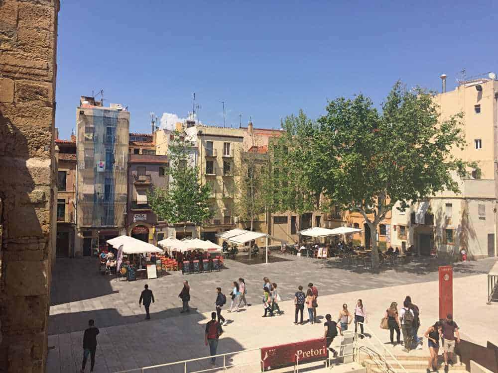 Placa del Rei Tarragona