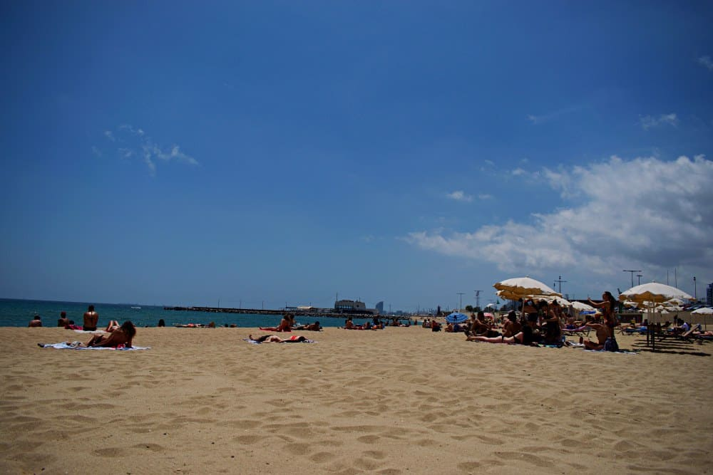 Platja Marbella Barcelona