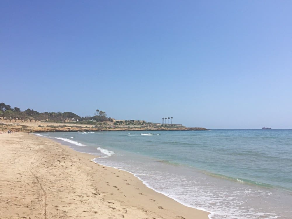 Playa del Milagro Tarragona best beach