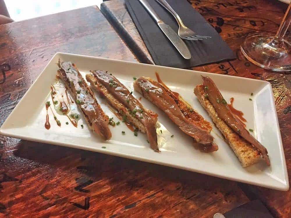 Salted Anchoives La Pepita Tapas Bar Gracia Barcelona