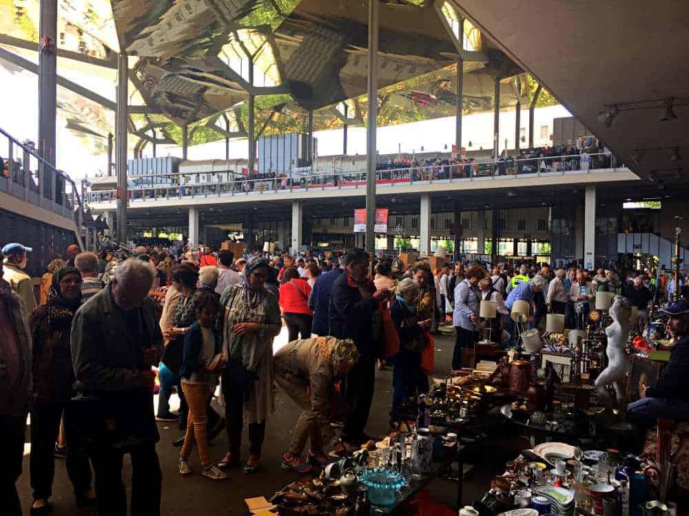 Sant Antoni Flea Market Barcelona