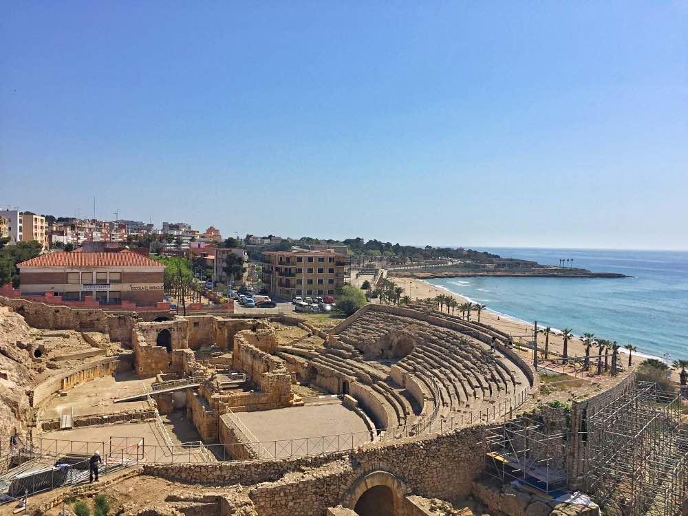The amphitheatre Tarragona sightseeing