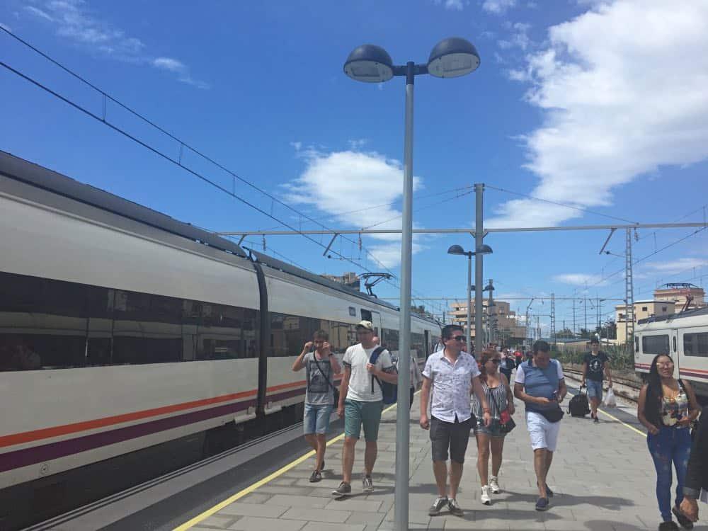 Tarragona day trip from Barcelona train