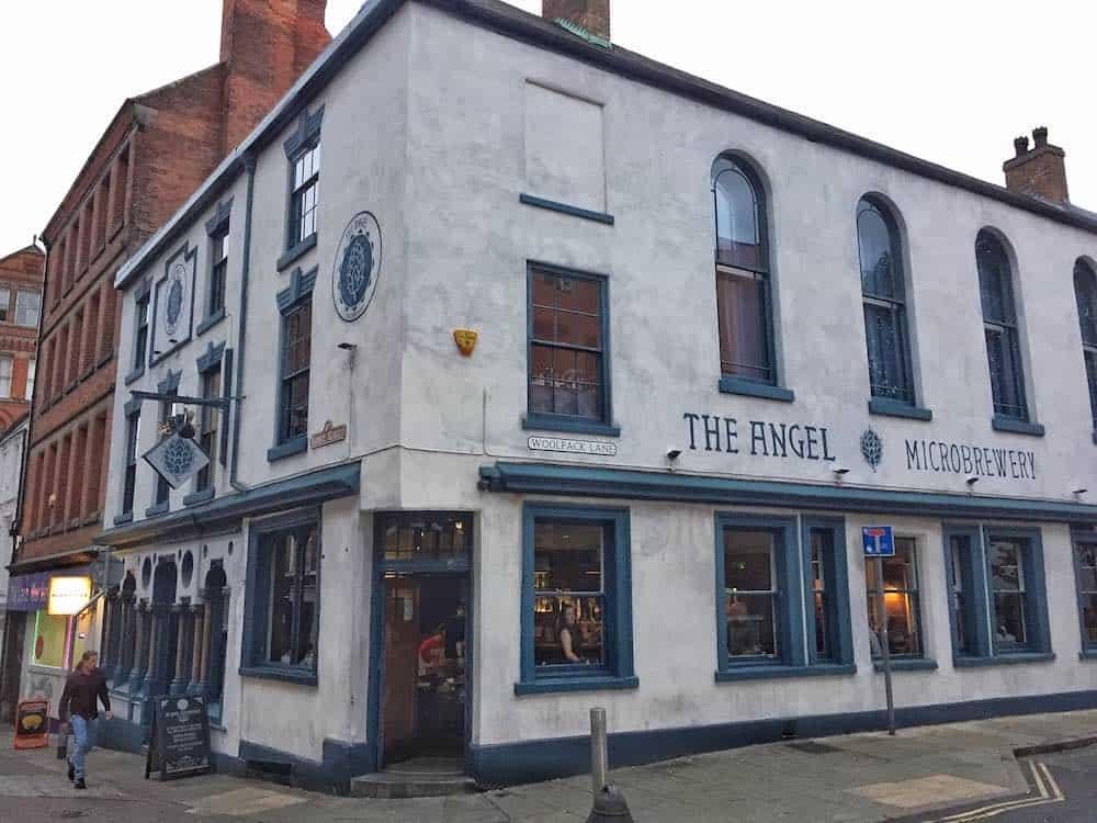 The Angel Best pubs in Nottingham