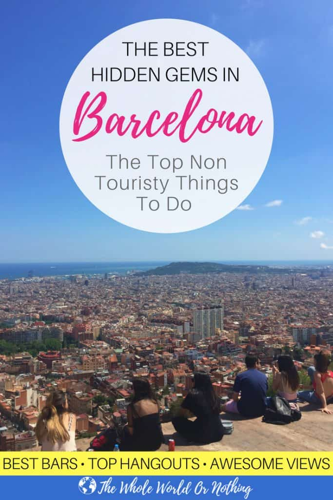 The Bunkers with Text Overlay The Best Hidden Gems in Barcelona