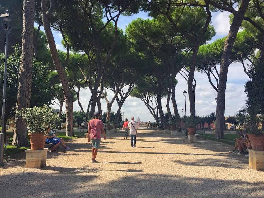 Alternative Things To Do In Rome Orange Garden