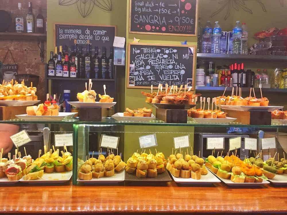 Barcelona hacks pintxos bar