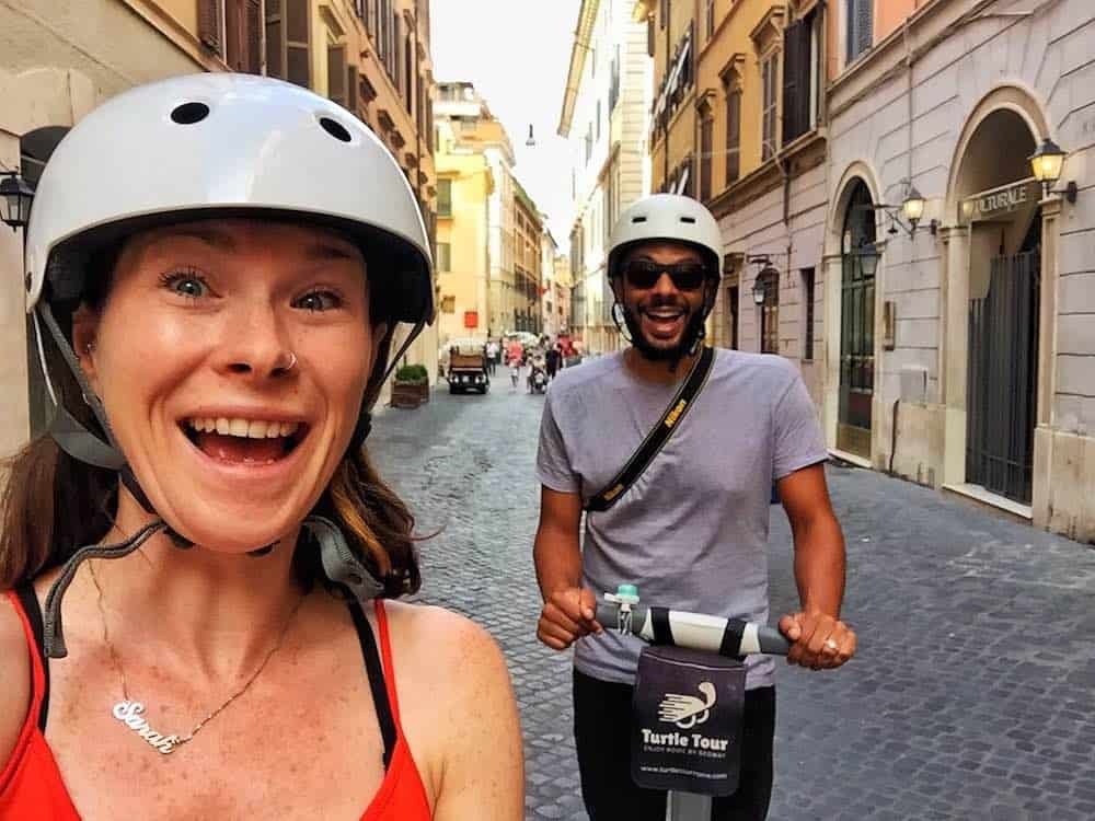 Fun Activities To Do In Rome Segway Tour
