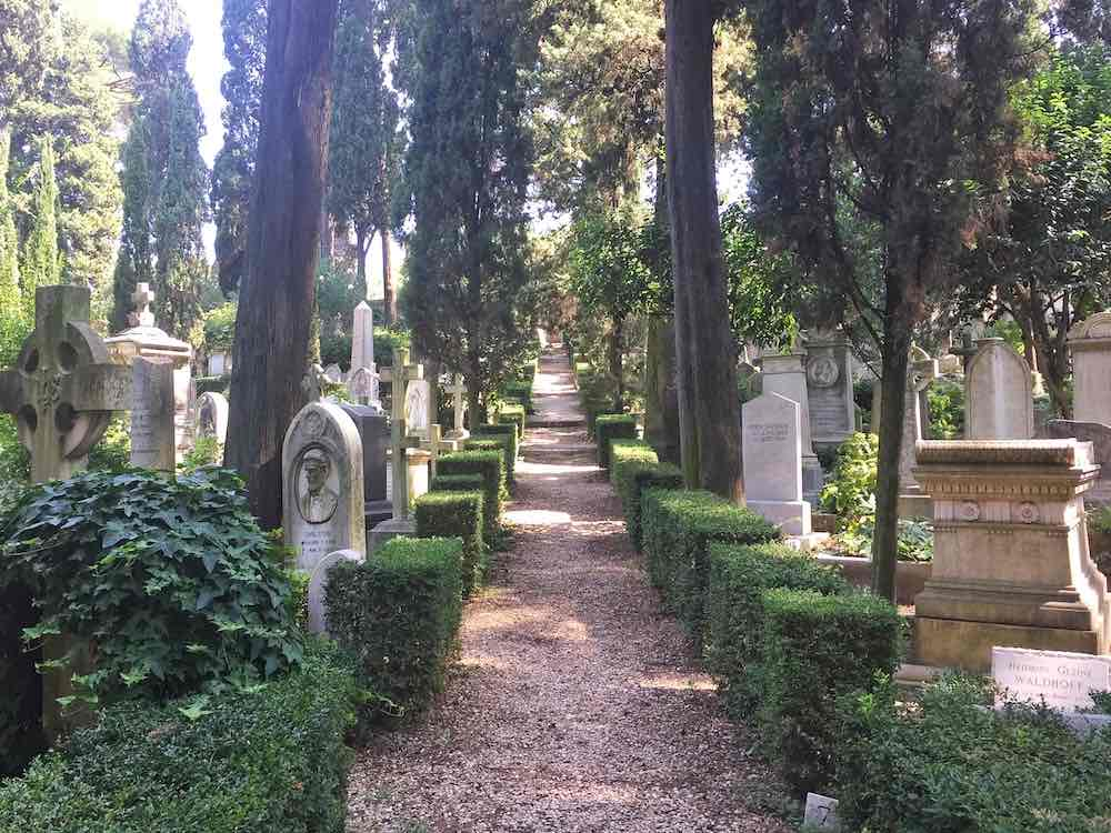 Quirky Things To Do In Rome Protestant Graveyard