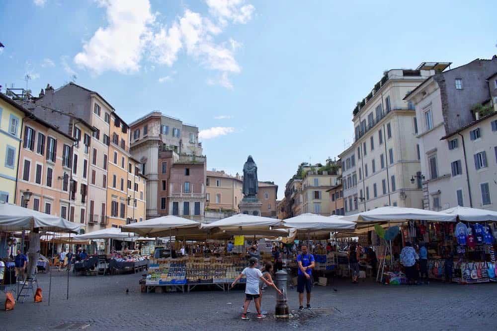 Unique Things To Do In Campo de'Fiori Market