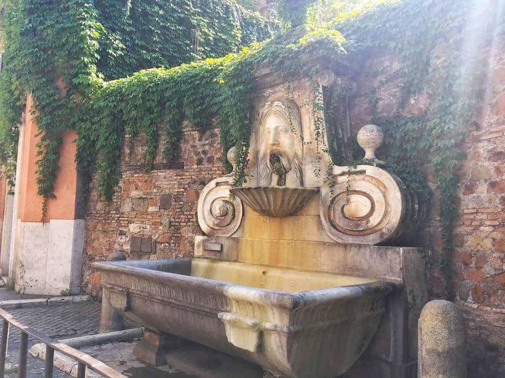 Unusual Places To Visit In Rome via Giulia's Mascherone