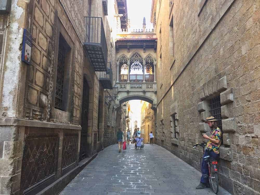 Gothic Quarter Barcelona Long Weekend