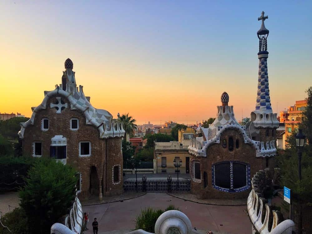 Parc Güell Sunrise 3 Days In Barcelona