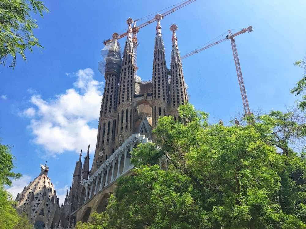 Sagrada Familia 4 Days in Barcelona