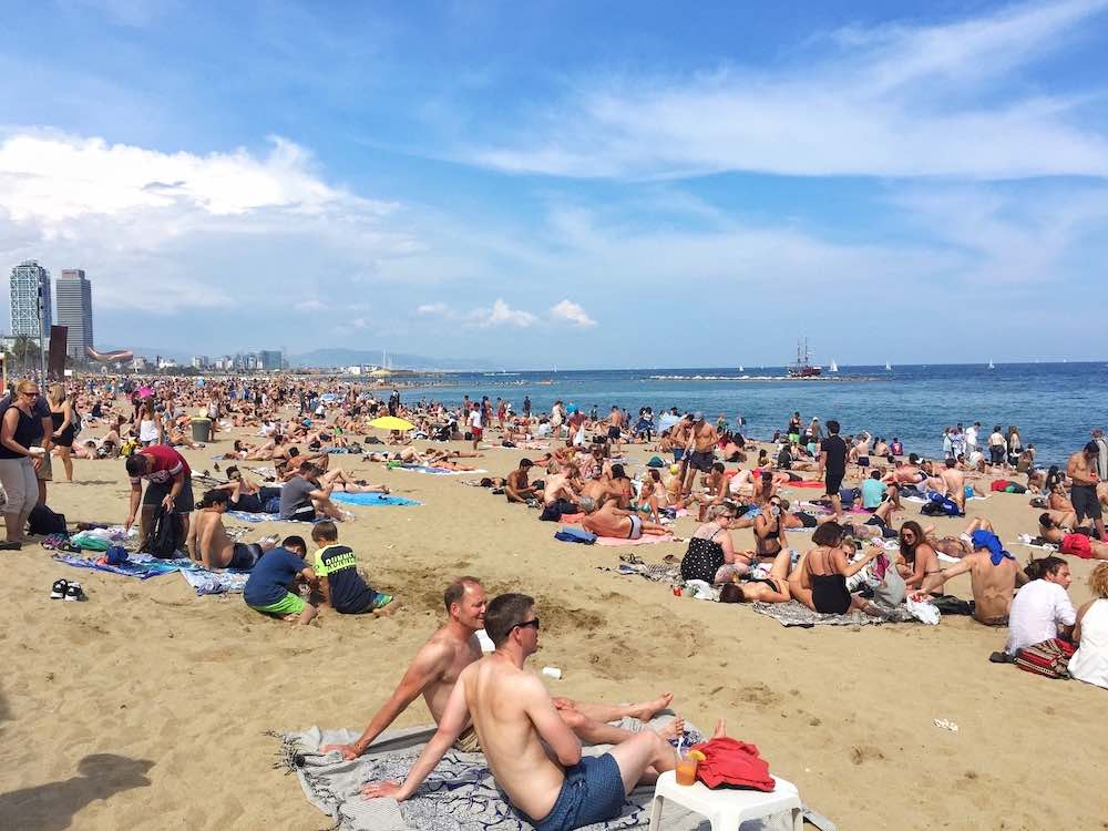 Barceloneta Beach Best Time To Go To Barcelona