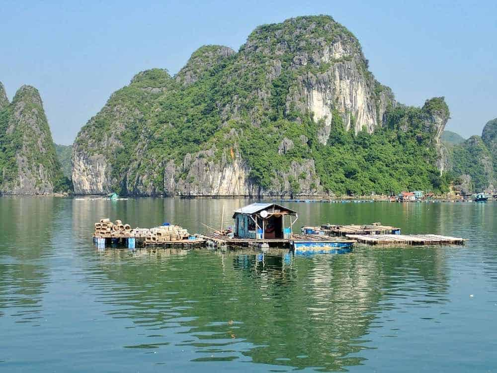 Cat Ba things to do fishing village