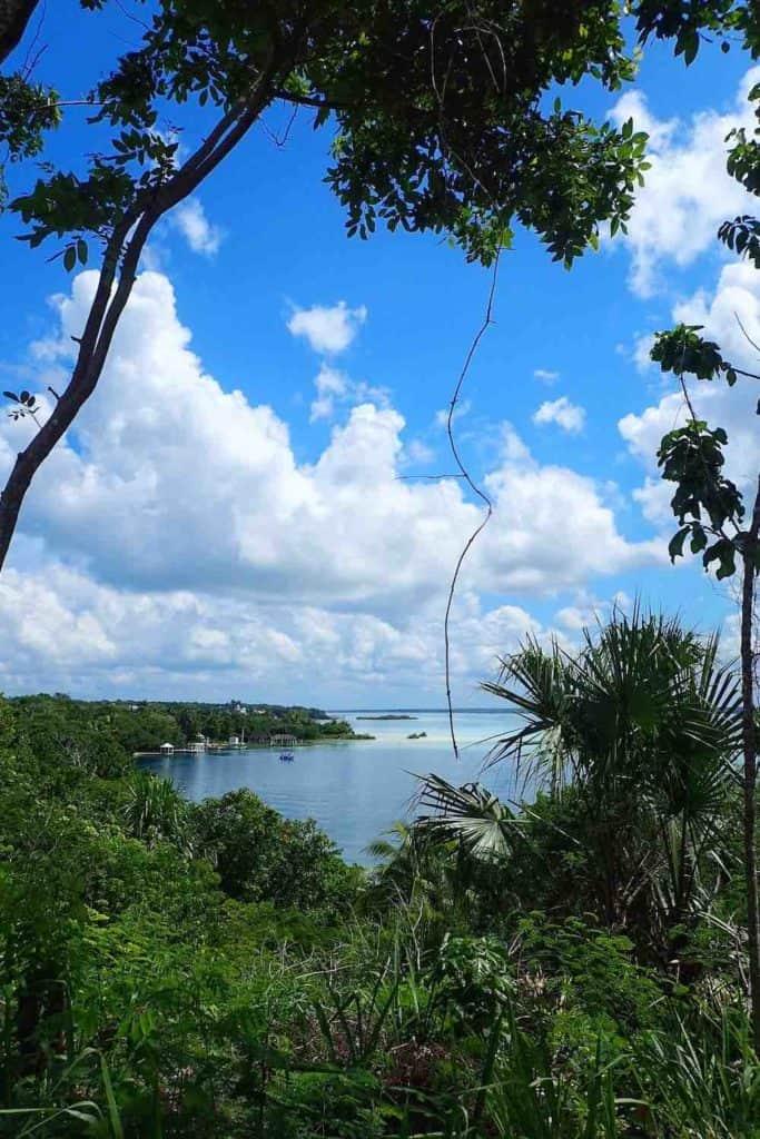 Cenote Esmeralda Bacalar Lagoon