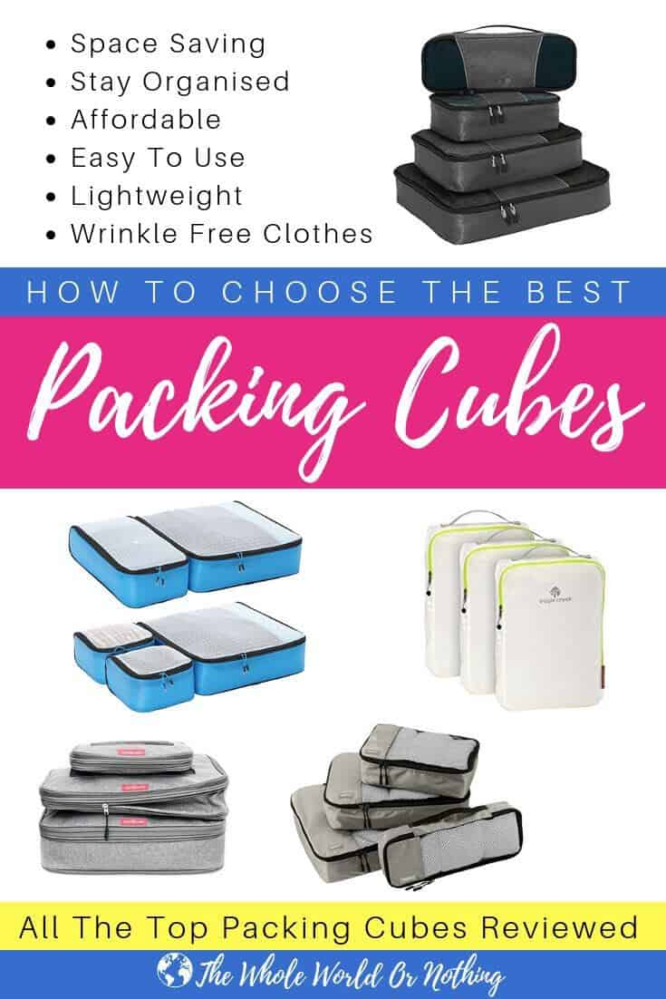 Are packing cubes worth it? In a word, YES! Pack efficiently, keep your luggage organised & keep yourself sane with these brilliant pieces of travel gear & packing hacks | #backpacking #organisation #travelgear #traveltips #travel
