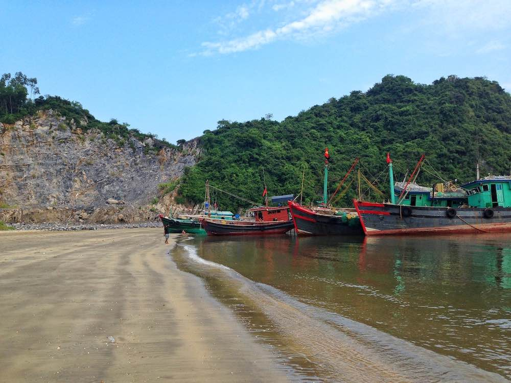 best beaches in Vietnam Cat Ba