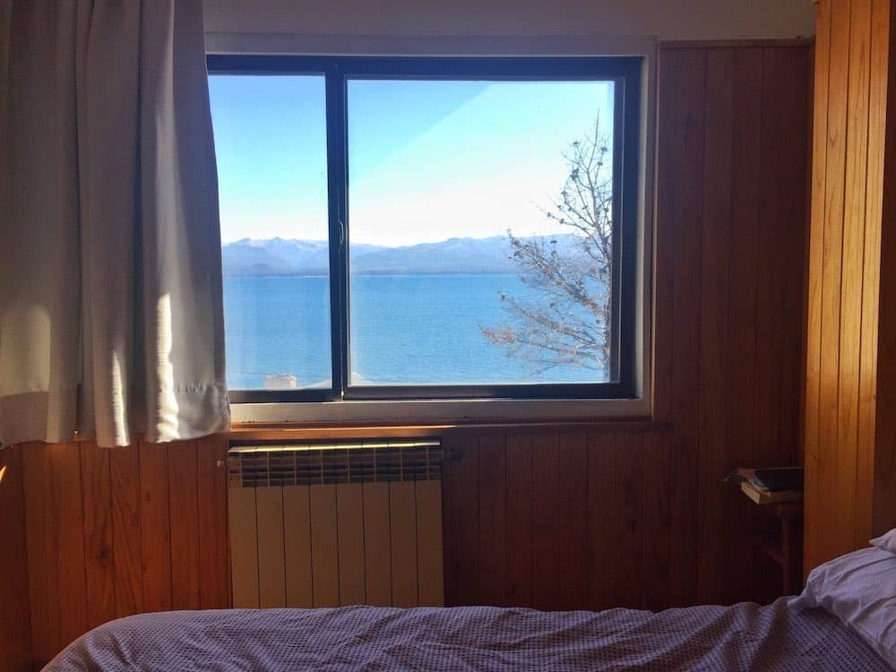 Bariloche accommodation with lake view