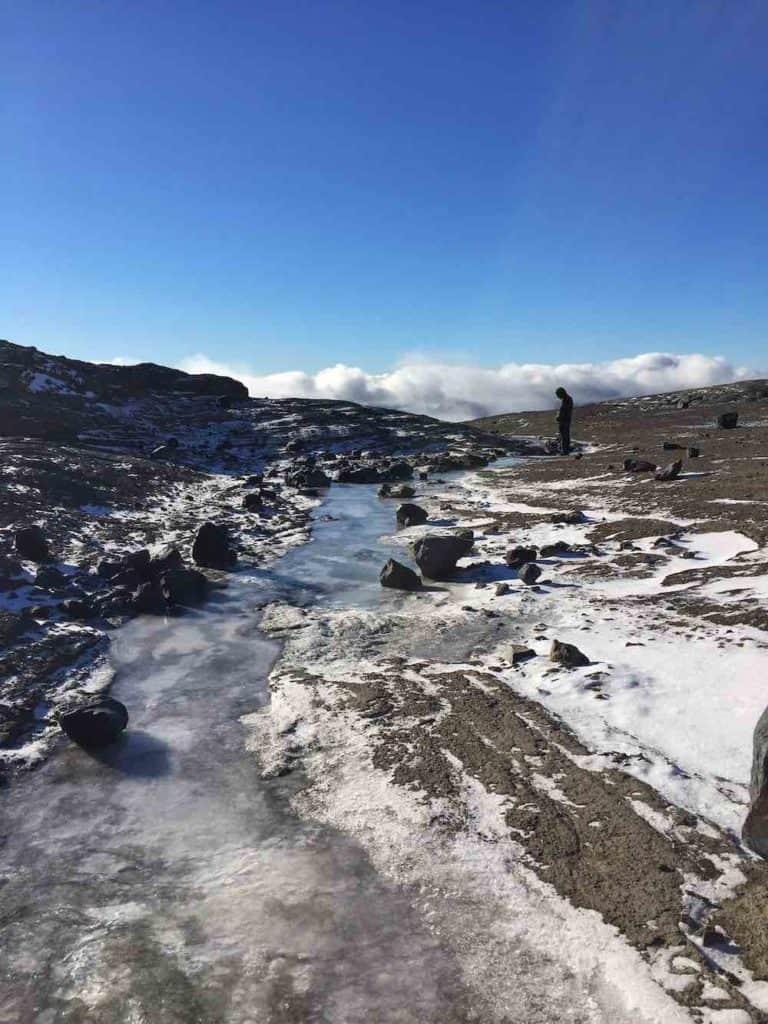 Mount Tronador Bariloche in March