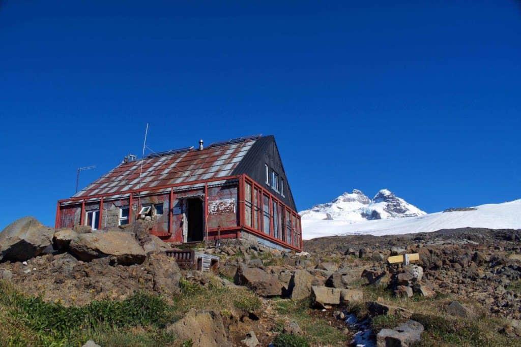 Trekking To Refugio Otto Meiling Banner